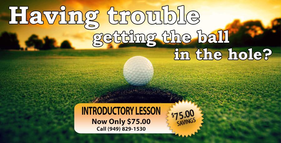 golf lessons irvine
